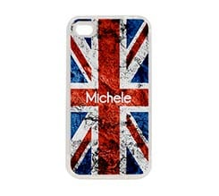 Cover Silicone iPhone 4-4S Uk