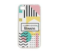 Cover in silicone iPhone 4-4s Colour chic
