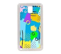 Cover Galaxy Note 3 in Silicone Blue colour