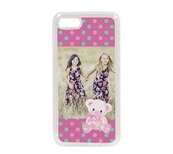 Cover in Silicone iPhone 7 Pois