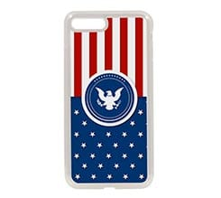 Cover in Silicone iPhone 7 Plus American