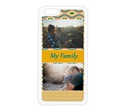 Cover in silicone iPhone 6 Plus Yellow