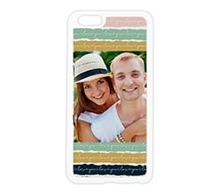 Cover in silicone iPhone 6 Plus Trame