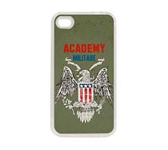 Cover in silicone iPhone 4-4s Accademia