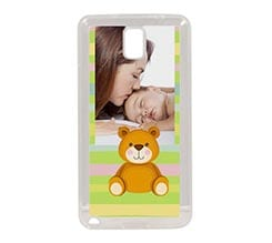 Cover Galaxy Note 3 in Silicone Teddy