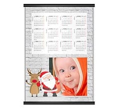 Calendario A4 Babbo on Wall