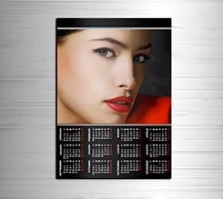 Calendario magnetico A3 Simply black