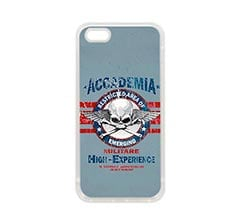 Cover in Silicone iPhone 5-5S Accademia