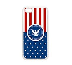Cover in Silicone iPhone 5-5S Aquila militare
