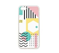 Cover in Silicone iPhone 5-5S Attractive