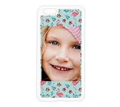 Cover silicone iPhone 6 Plus Fenicotteri