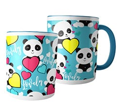 Tazza panoramica Lovely panda