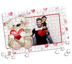 Puzzle A3 Sweet teddy bear