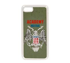 Cover in Silicone iPhone 7 Accademia militare