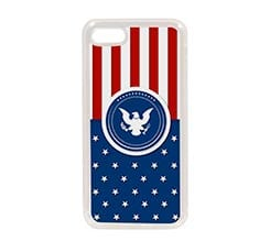 Cover in Silicone iPhone 7 Aquila militare