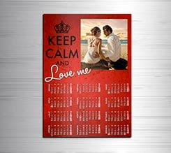Calendario magnetico A3 Keep calm