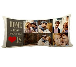 Cuscino Canvas 60x30 cm Home is here