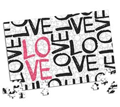 Puzzle A3 Love words