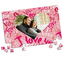 Puzzle A3 Pink love