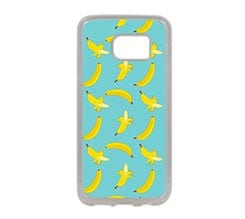 Cover Galaxy S7 in Silicone Banane