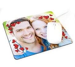 Tappetino mouse rettangolare Frame in love