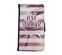 Flip cover Galaxy S6 in tessuto Summer