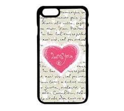 Cover iPhone 6 Cuore rosa