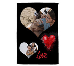 Coperta 100x150 Black love
