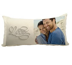 Cuscino Canvas 60x30 Elegant love