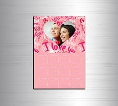 Calendario magnetico A4 Words of love