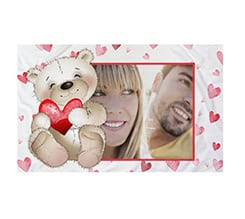 Federa Cuscino Sweet teddy bear