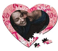 Puzzle cuore A3 Words of love