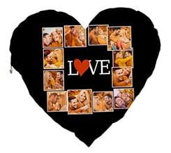 Cuscino Cuore Elite Lovely collage