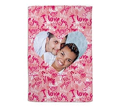 Coperta 100x150 Words of love