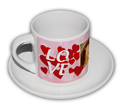 Tazza caffè Americano Storm of hearts