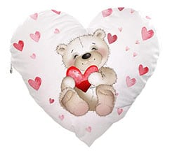 Cuscino Cuore Elite Sweet teddy bear