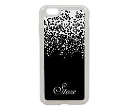 Cover iPhone 6 in silicone Pixel