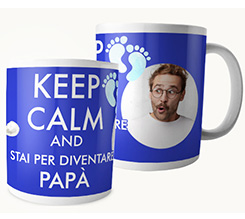 Tazza panoramica Keep calm dad