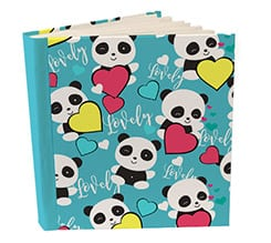 Album 26x30 con tasche Lovely panda