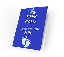 Cards Keep calm dad