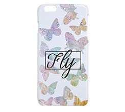 Cover 3D iPhone 6 Plus Farfalle