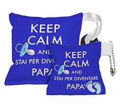 Portachiavi ventosa Keep calm dad