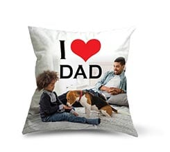 Cuscino in pile Love dad