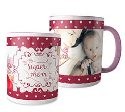 Tazza panoramica Super mom