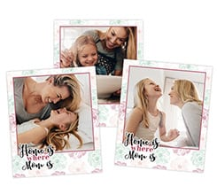 Polaroid Magnetiche Home is mom