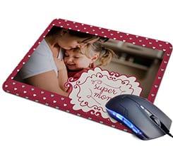 Tappetino Mouse in Pelle Super mom