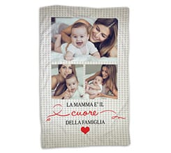 Coperta 100x150 Mamma collage