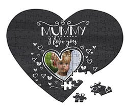Puzzle cuore A3 Mummy