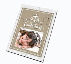 Puzzle magnetici rettangolari First communion