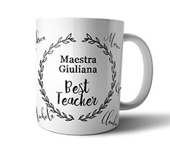 Tazza panoramica Teacher frame